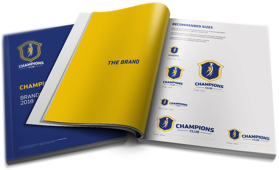 Champions Club Brand Book